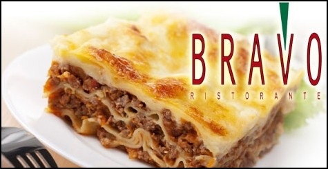 $20 for $40 worth of food & drinks at Bravo Ristorante