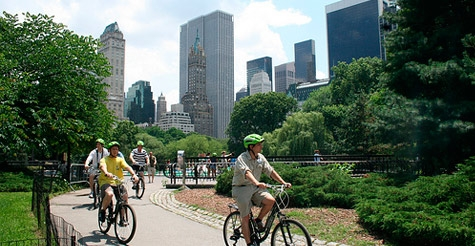 $12 for a 3-hour bike rental from Central Park Sight Seeing