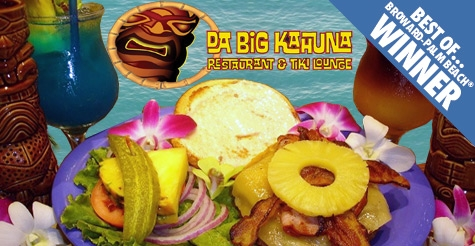 $15 for $30 worth of food & drink at Da Big Kahuna Restaurant & Tiki Lounge