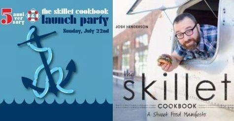 $75 for an exclusive presale VIP ticket to Skillet Street Food's 5th Anniversary Beach Party, Pig Roast & Cookbook Launch on July 22