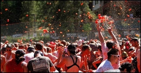 $25 for one entry to Tomato Battle Seattle at Pyramid Brewery on Saturday, August 11th