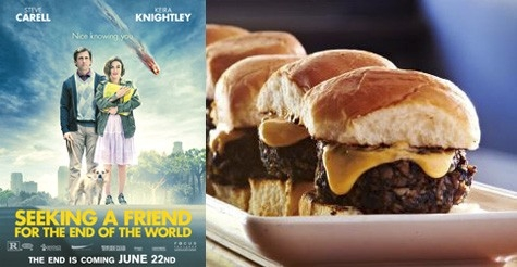 "$38 for Taste of New York Sampler Platter for 2 at Little Town and two passes to an exclusive screening of ""Seeking a Friend for the End of the World"""