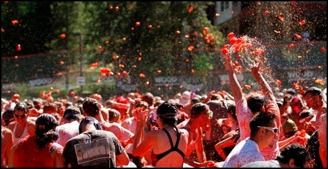 $50 for two VIP entries to Tomato Battle Seattle at Pyramid Brewery on Saturday, August 11th