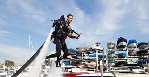 $125 for a 30-minute water-powered jetpack flight from Jetlev Southwest