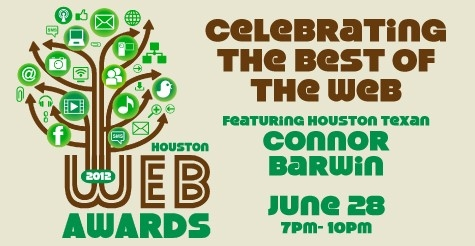 $15 for a ticket to Houston Web Awards