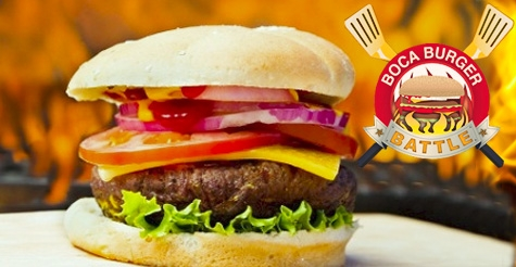 $26 for 1 ticket to the Boca Burger Battle