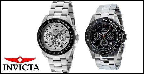 $79 for a Invicta Men's Speedway Gen II Chronograph Stainless Steel Bracelet Watch
