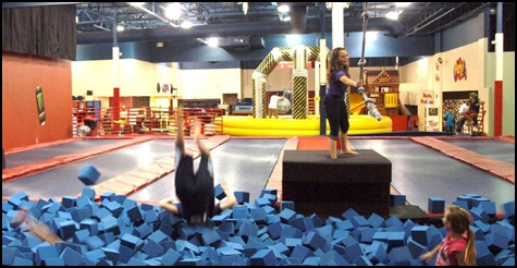 $12 for 2 people for 2 hours at Big Time Trampoline Fun Center