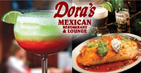 $10 for $20 worth of food & drinks at Dora's Mexican Restaurant