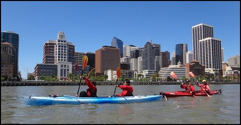 50% off a family kayak trip with City Kayak