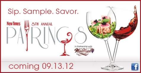 $25 for 1 General Admission ticket to Pairings 2012