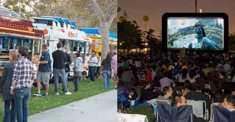 $10 for two tickets to any movie at Street Food Cinema