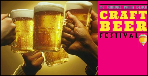 $35 for a single VIP ticket to the 1st Annual Palm Beach Craft Beer Festival