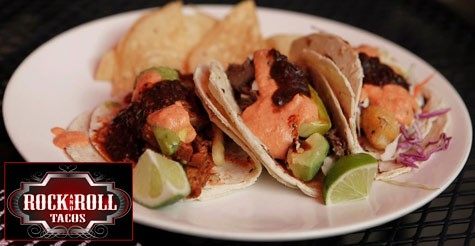 $7 for $14 of food & drink at Rock and Roll Tacos