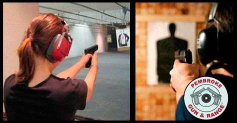$39 for a shooting package for two at Pembroke Gun & Range