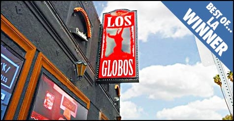 $25 for $50 worth of food & drinks and admission for 2 at LA Weekly Best of Winner Los Globos