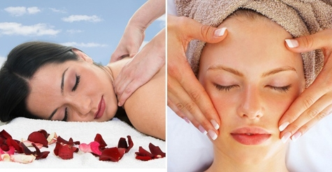 $72 for your choice of two spa services including massage, facial or body scrub