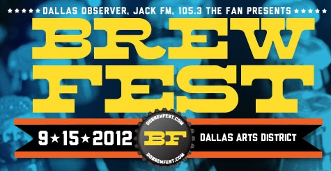 $15 for General Admission Ticket to BrewFest on September 15