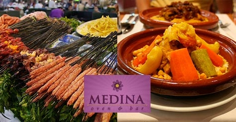 $15 for $30 of food and drink at Medina