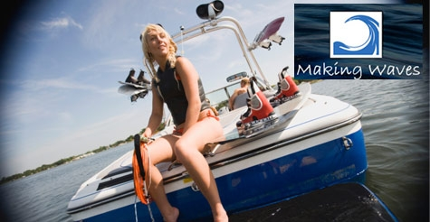 $249 for 5-Hour High Performance Boat Rental from Making Waves Boat Club on Lake Lewisville