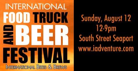 $24 for admission to International Food Truck and Beer Festival with open bar pre-party and closing ceremony