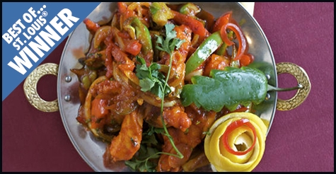 $10 for $20 of food & drink at Best of St. Louis winner Haveli's Indian Restaurant