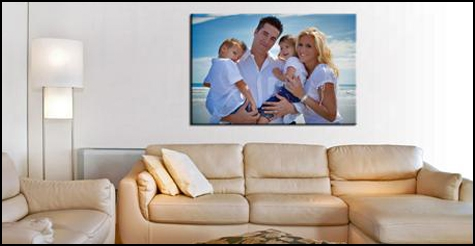 $29 for a 12x16-inch framed photo canvas print