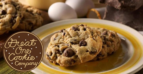 Celebrate National Chocolate Chip Day at Great One Cookie Company $12 for $25