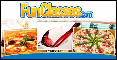 $29 for a Gourmet Pizza Making class and Wine Tasting