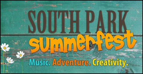 $30 for $60 two day ticket to South Park Summer Festival