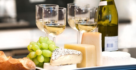 $99 for 5 wine tasting classes with cheese pairings