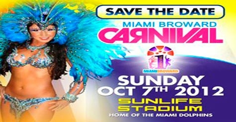 $10 for one admission to Miami Broward One Carnival at Sun Life Stadium
