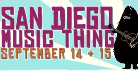 $25 for a 2-Day All-Access Badge to San Diego Music Thing