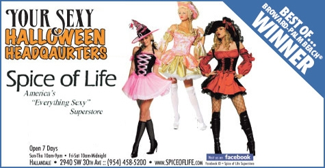 $15 for $30 at Spice of Life - Your Sexy Halloween Headquarters