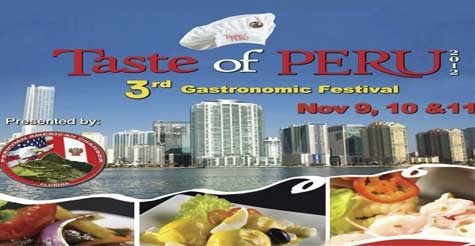 $20 for two tickets to Taste of Peru 3rd Annual Gastronomic Festival