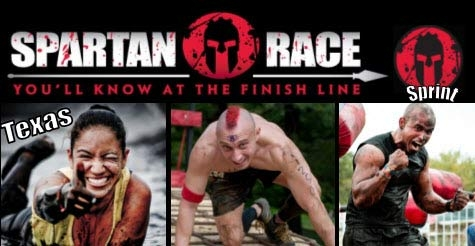 $30 early registration to Texas Spartan Sprint Mud Race, 2013