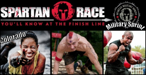 $30 early registration to Colorado Spartan Military Sprint Mud Race, May 2013
