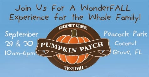 $16 for Family Four-Pack to Coconut Grove Pumpkin Patch Festival