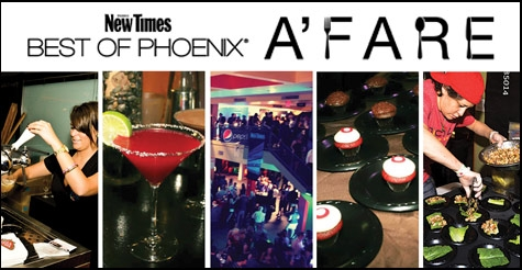 $17 for a Ticket to the 13th Annual Best of Phoenix A'fare on Oct. 6th