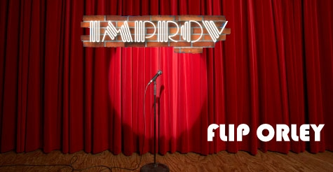 $7 admission ticket to Flip Orley at the Addison Improv on Thursday Sept. 27 or Sunday Sept. 30