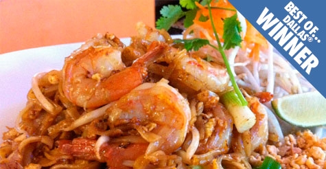 $15 for $30 of food & drink at Naga Thai, a Best of Dallas Winner