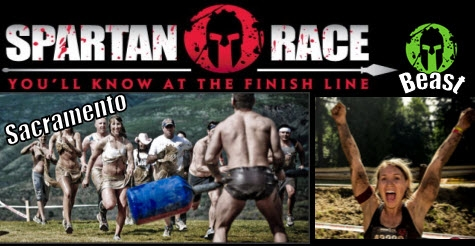 $60 early registration to Sacramento Spartan Beast Mud Race