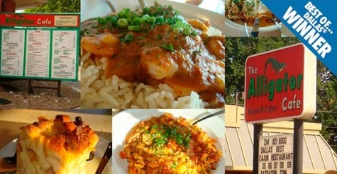 $10 for $20 of food & drink at Best of Winner Alligator Cafe
