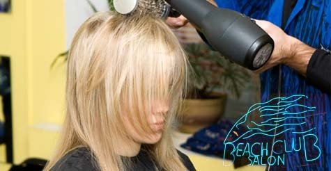 $70 for a color, cut and blow-dry from Beach Club Salon
