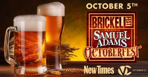 $25 for 2 GA tickets to Samuel Adams Octoberfest