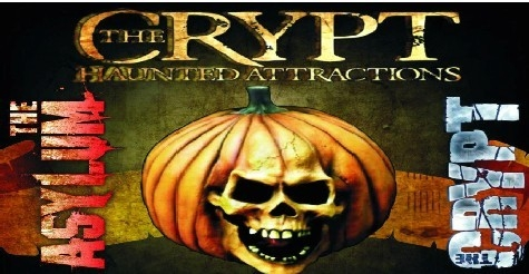 $25 for Two Fast Pass Tickets to BOTH The Crypt and Asylum Haunted Attractions ($50 Value)