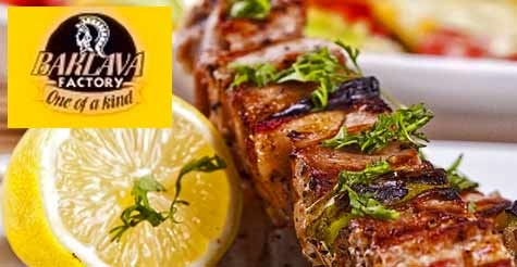 $10 for $20 worth of Mediterranean food and drinks at The Baklava Factory