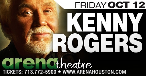 $34 for a ticket to the Kenny Rogers Concert at Arena Theatre and a concession credit
