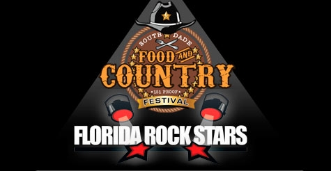 $10 for one admission to South Dade Rock Stars Food and Country Festival