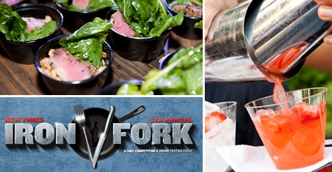 $35 for one VIP ticket to Iron Fork